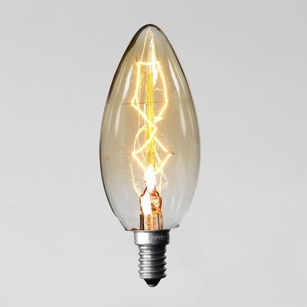 Żarówka Edison 8, C35 E14 40W