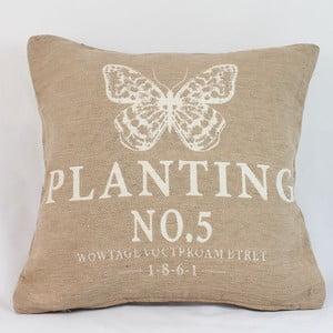 Poszewka na poduszkę Planting 40x40 cm, jasna