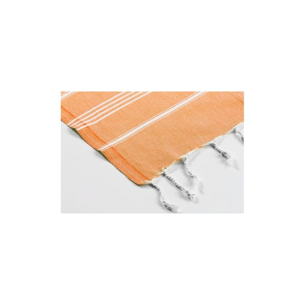 Ręcznik hamam Sabba Orange, 100x180 cm