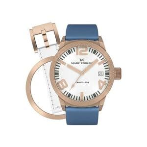 Zegarek damski Marc Coblen z dodatkowym paskiem i obręczą P33
