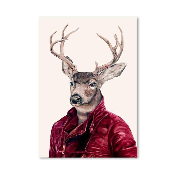 """Plakat """"Deer"""", 42x60 cm"""