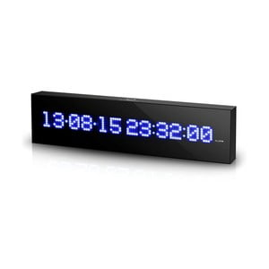 Zegar naścienny z kalendarzem LED Calendar Wall Clock