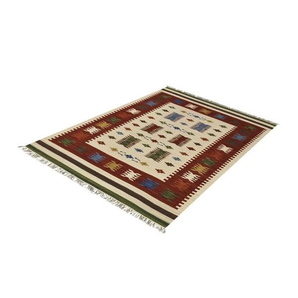 Dywan wełniany Kilim Classic AK02 Mix, 125x185 cm