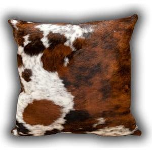 Poduszka skórzana Whole Cow, 45x45 cm
