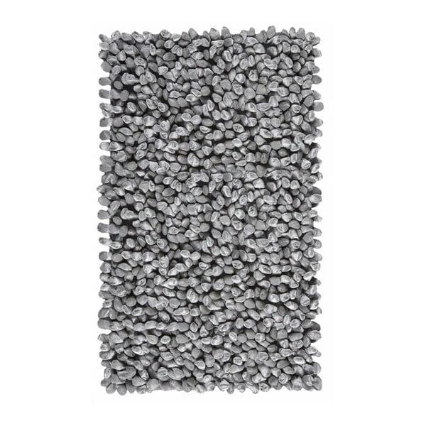 Szary dywanik łazienkowy Rocca, 70x120 cm