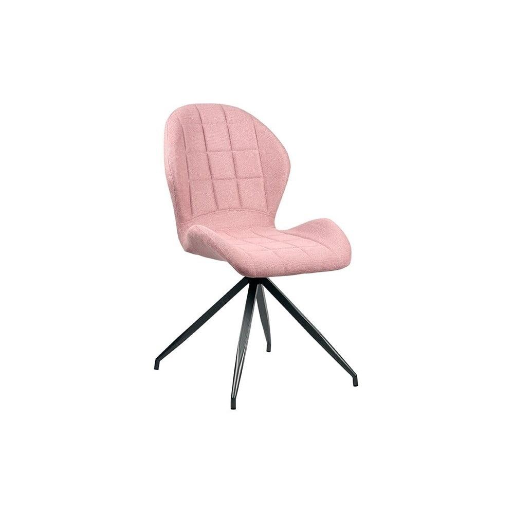 Różowe krzesło LABEL51 Ferm