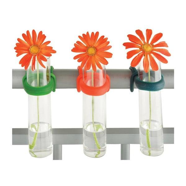 Zestaw 3 wazonów na balustradę Esschert Design Happy