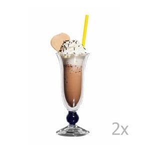 Zestaw 2   szklanych pucharków bloomix Davide