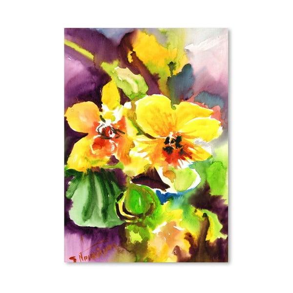 Plakat Yellow Orchids (projekt Suren Nersisyan)