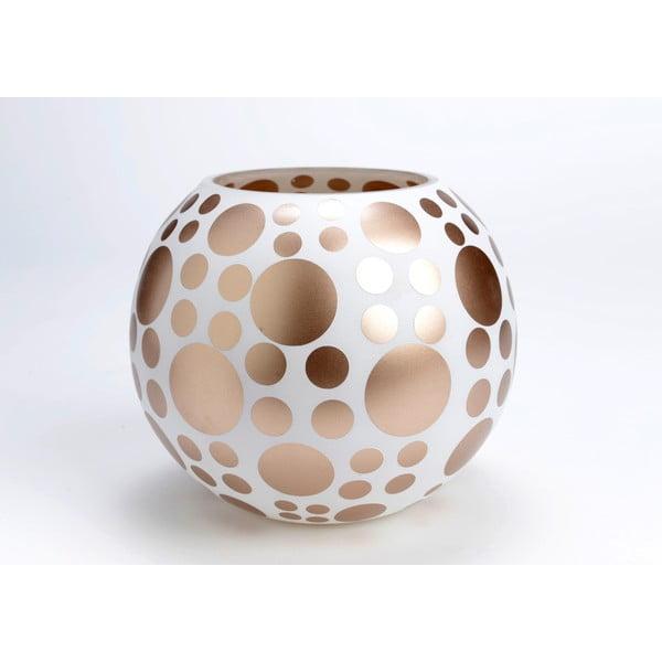 Wazon Round Golden Vase