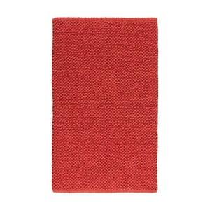 Dywanik łazienkowy Dotts Red, 60x100 cm