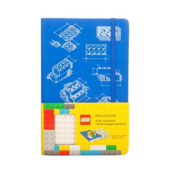 Notes gładki Moleskine Lego Blue