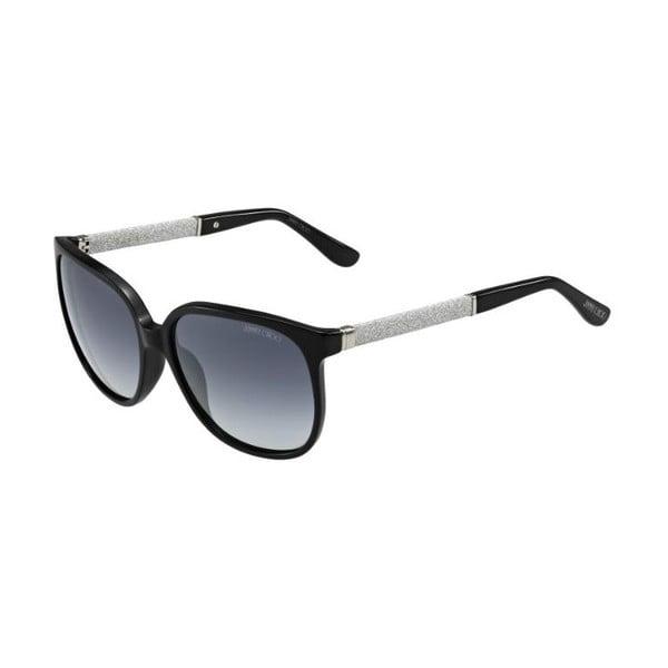 Okulary przeciwsłoneczne Jimmy Choo Paula Black Glitter/Grey