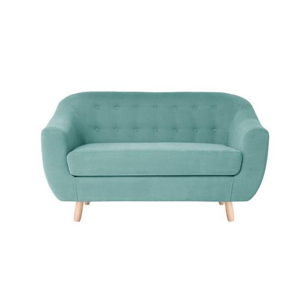 Miętowa sofa dwuosobowa Jalouse Maison Vicky