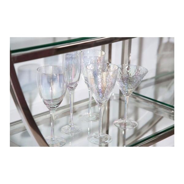 Zestaw 4 kieliszków do wina Premier Housewares Hammered, 377 ml