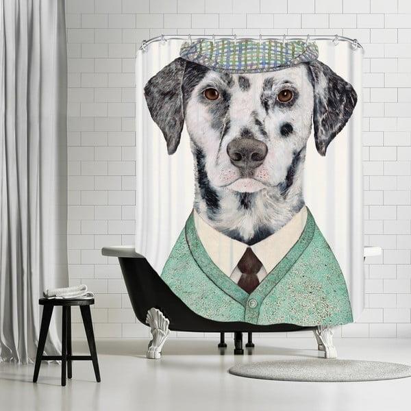 Zasłona prysznicowa Dalmatian, 180x180 cm