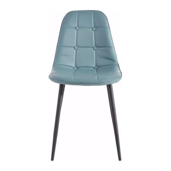 Zestaw 2 niebieskich krzeseł Støraa Lamar