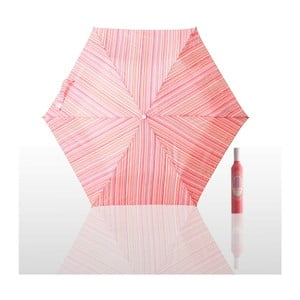 Parasol składany Pattern, różowy
