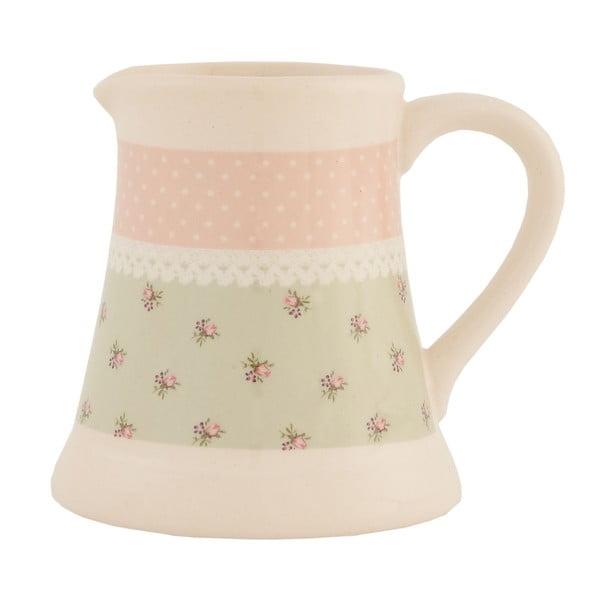 Ceramiczny mlecznik Clayre Roses