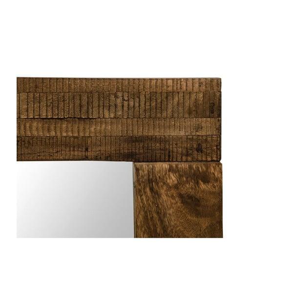 Lustro w ramie z drewna mangowca Jamila, dł. 120 cm
