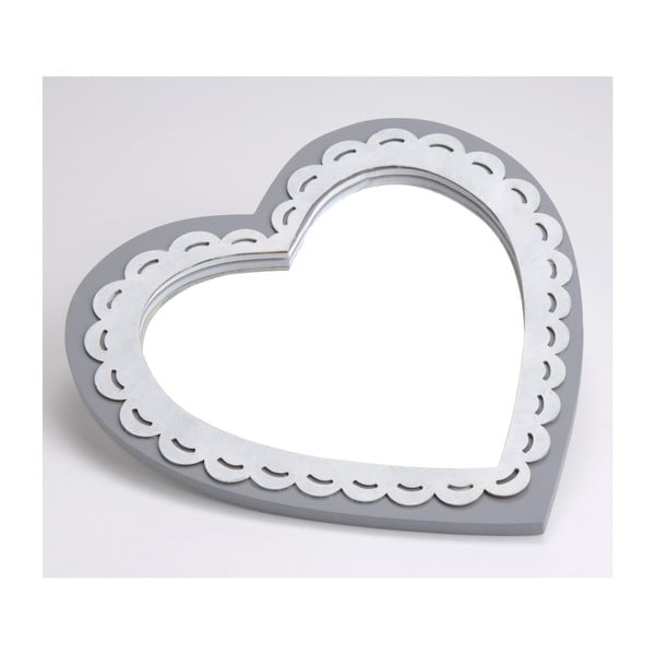 Lustro Deauville Heart, 25x25 cm