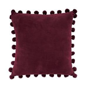 Poszewka na poduszkę Ashti Burgundy, 45x45 cm