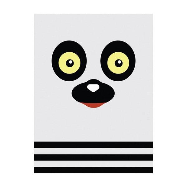 Plakat Lemur, A3