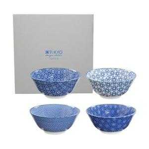 Zestaw misek Tayo Nippon Blue, 15,2x6,7 cm, 4 szt.