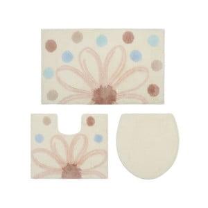Zestaw 2 dywaników łazienkowych i pokrowca na sedes Confetti Bathmats Alinda