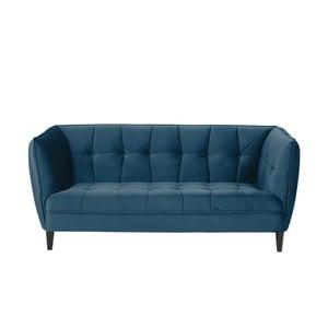 Niebieska 2-osobowa sofa Actona Jonna, dł. 182 cm