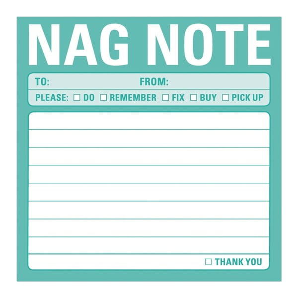 Karteczki samoprzylepne Nag Note