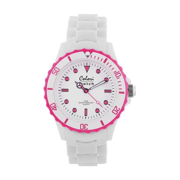 Zegarek Colori 40 White/Pink