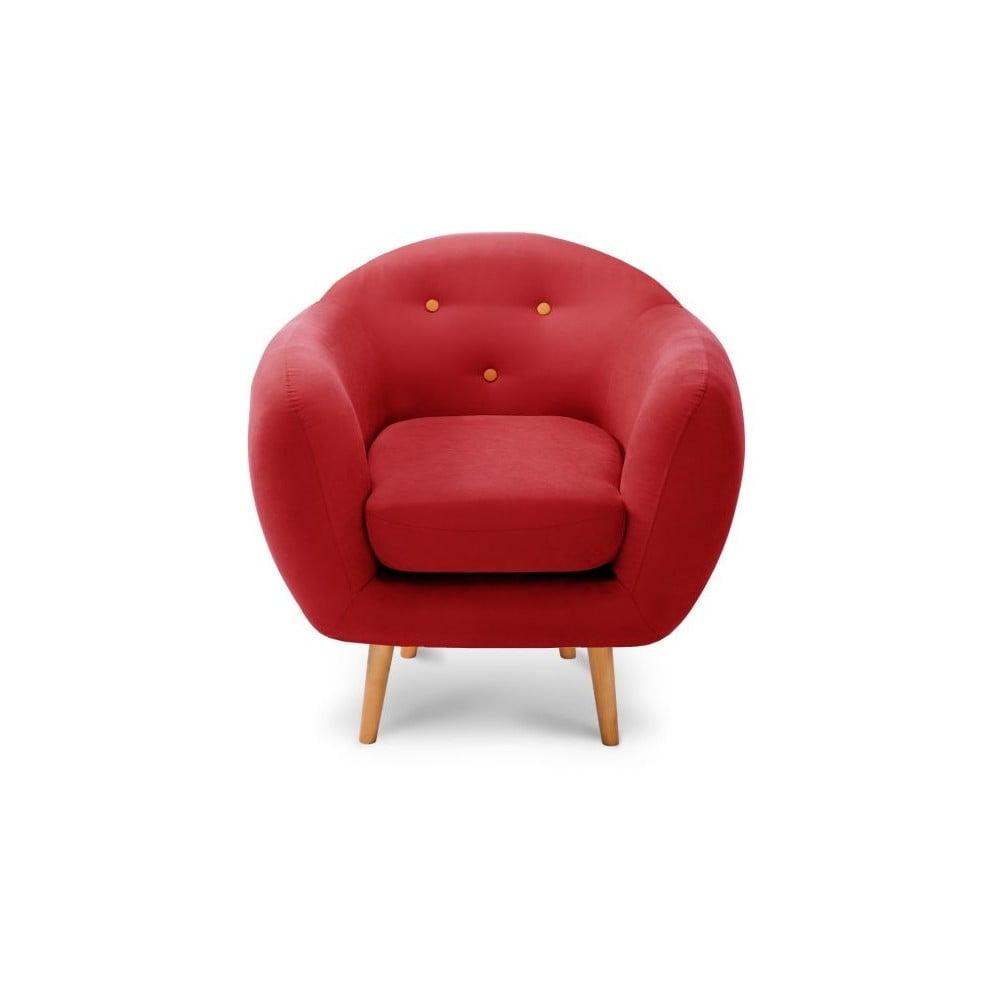 Czerwony fotel byStella Cadente Maison Constellation