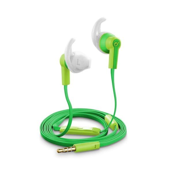 Słuchawki wodoszczelne Cellularline VOYAGER, zielone