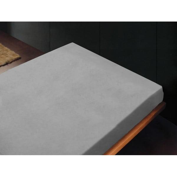 Prześcieradło Liso Gris Perla, 180x260 cm