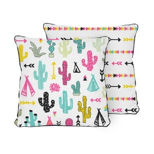 Poduszka Pillow Cactus Garden, 45x45 cm