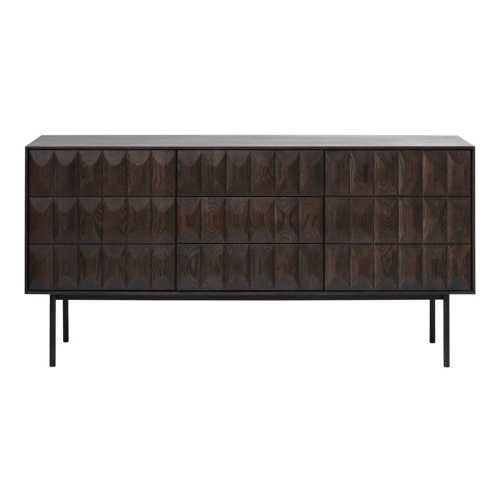 Brązowa komoda Unique Furniture Latina, dł. 160 cm