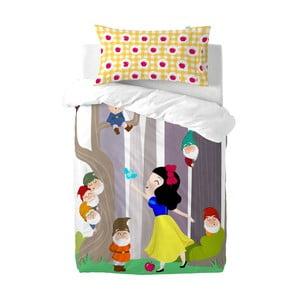 Komplet pościeli dziecięcej Mr. Fox Snow White, 115 x 145 cm