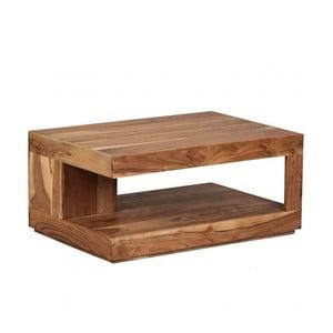 Stolik z litego drewna akacji Skyport Nancy