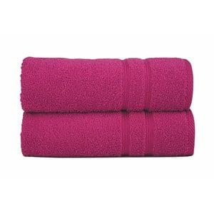 Ręcznik Sorema Basic Fuchsia, 50x100 cm