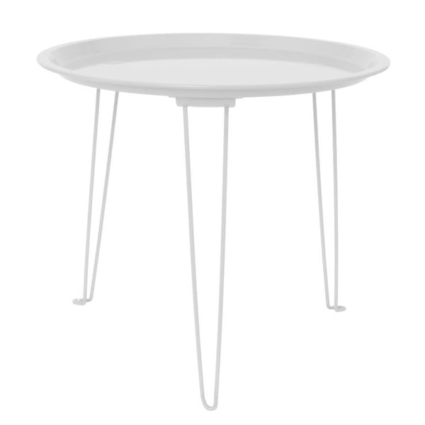 Biały stolik Present Time Tray Mouse