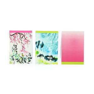 Zestaw 3   notatników Blueprint Collections Designers Guild