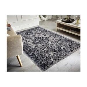 Dywan plamoodporny Floorita Edessa Grey Black, 80x150 cm