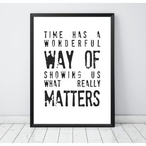 Plakat Nord & Co What Really Matters, 40 x 50 cm