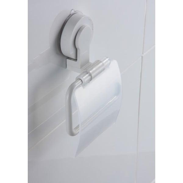 Uchwyt na papier toaletowy z przyssawką ZOSO Tissue White
