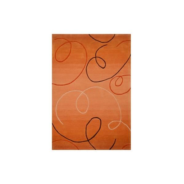 Dywan ręcznie tkany Pluto, 200x300 cm, złoty