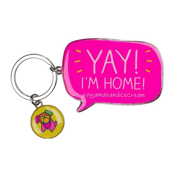 Breloczek Happy Jackson Yay! I´m Home