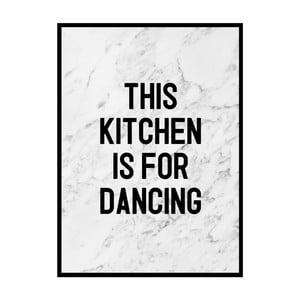 Plakat Nord & Co Dancing Kitchen, 21x29 cm