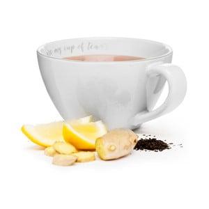 Kremowy kubek Sagaform My Cup Of Tea, 0,7l