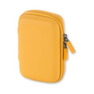 Żółte uniwersalne etui Moleskine Shell, XS